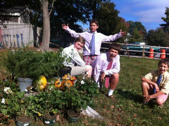 Fall Garden Work